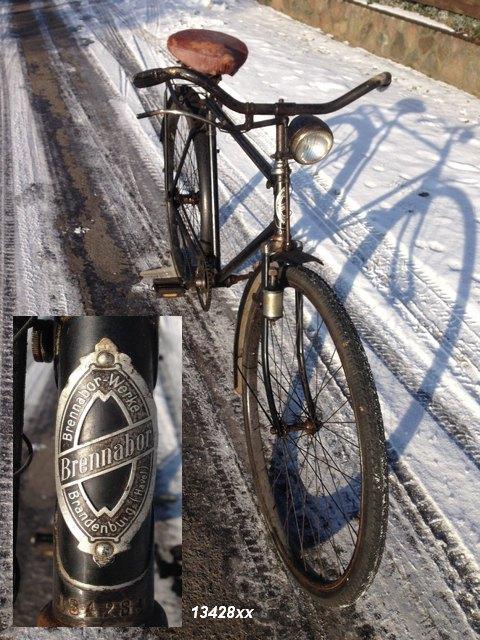 Fahrrad-Marke Brennabo...