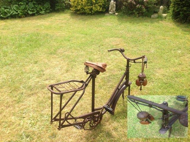 Verkauf zur selbstrevision instandsetzungen von alten fahrr dern - Gartendeko fahrrad ...
